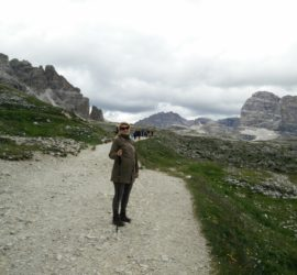 Hiking pregnant on the Tre Cime di Lavaredo trail