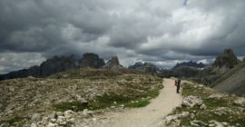 Tre Cime di Lavaredo: Weather was changing super fast