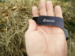 BioLite Headlamp 200 : Headband is made of breathable and moisture-wicking material