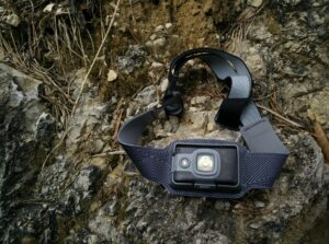 BioLite Headlamp 200: The housing is integrated into the headband