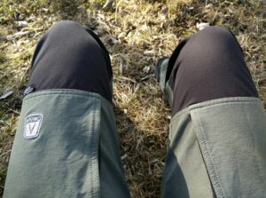 CimAlp Laos Hiking Pants: The pants are reinforced in crucial areas like knees, seat and ankles