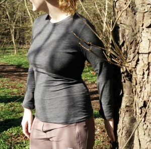 Boob Design Merino Top - From the side