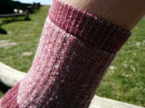 CimAlp Merino Socks - Cuffs are comfortable