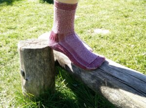 CimAlp Merino Socks - From the side
