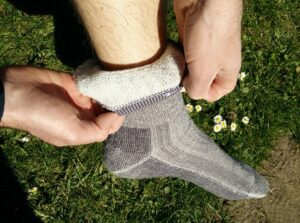 CimAlp Merino Socks - Material on the inside