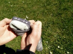 CimAlp Merino Socks - Size is printed on the inside of the sock