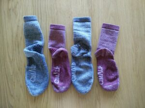 CimAlp Merino Socks - Unpacked and ready for use