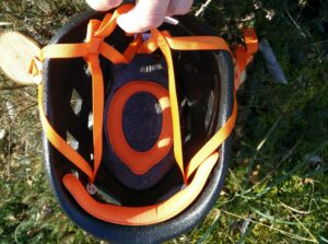 Petzl Sirocco Climbing Helmet: Adjusting the circumference requires some practice