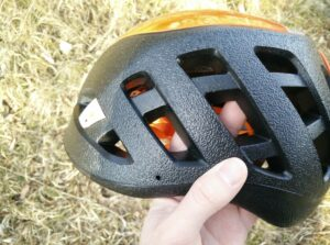 Petzl Sirocco Climbing Helmet: Large vents on the sides