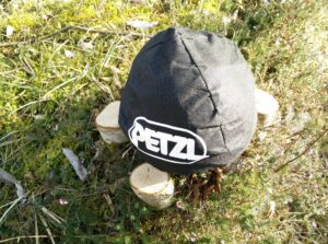Petzl Sirocco Climbing Helmet: The helmet comes with a pouch