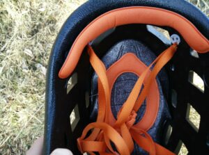 Petzl Sirocco Climbing Helmet: The liners are removable and can be washed