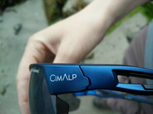 CimAlp Helium Sunglasses: Materials are high-quality - Grilamid