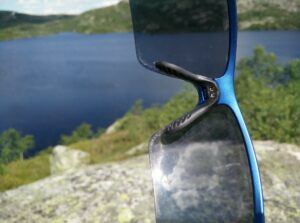 CimAlp Helium Sunglasses: The nose pad is comfortable