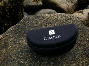 CimAlp Helium Sunglasses: They come with a pouch and a cleaning cloth
