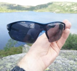 CimAlp Helium Sunglasses: The frame is wide to provide good coverage