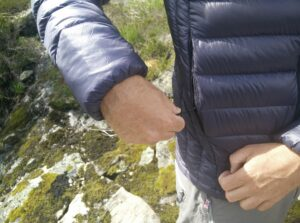 Dark Peak Nessh Down Jacket: Hand pockets are spacious