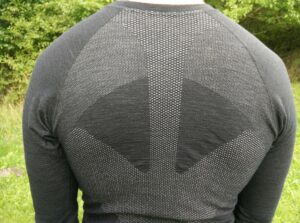 Lasting Wapol Base Layer: Strategically placed breathable panels
