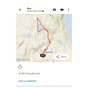 Suunto App: Each exercise is displayed on the map