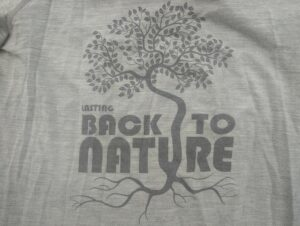 Lasting Merino 160 Back t-shirt - print on the front