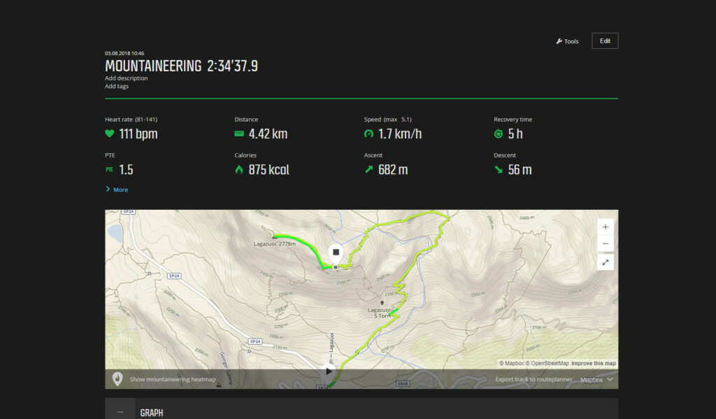 Movescount always worked fast which is not the case with the Suunto app