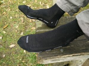 Lasting WLS Hiking Merino Socks: Thin fabric makes them perfectable for summer