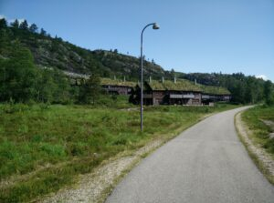 Kvitevatn Trail - cute holiday houses near ski centre