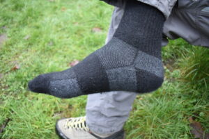 Arms of Andes Alpaca Wool Socks: Fit
