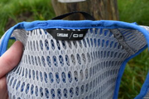 CamelBak Circuit Vest: The mesh fabric which really impressed me