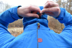 Sherpa Makalu Jacket - The drawcord on the back of the hood