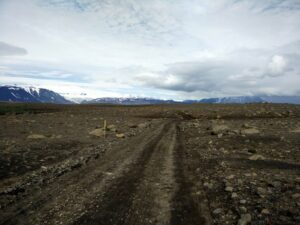 Hiking as a couple - no time for petty feelings in the Icelandic Highlands