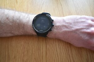 The Body Resources graph shown on Suunto 9 watch