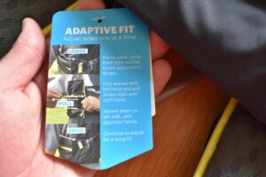 Nathan VaporAir 2.0 Hydration Vest: The vest is extremely easy to adjust