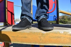Baabuk Urban Wooler Shoes: From the front