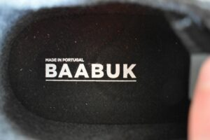 Baabuk Urban Wooler Shoes: The shoes are made in Portugal