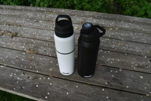 CamelBak MultiBev Bottle: Compared to the Chute bottle which is lighter and has larger capacity