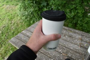 CamelBak MultiBev Bottle: The cup with lid
