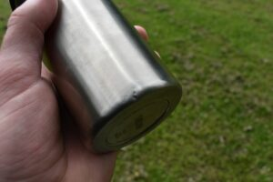 CamelBak MultiBev Bottle: The dent after it fall on the ground