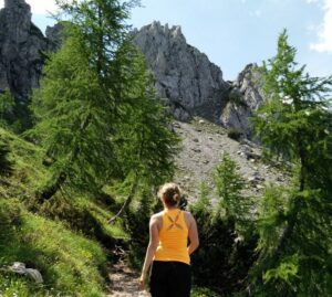 Hiking is a low to medium impact activity, depending on tempo and terrain