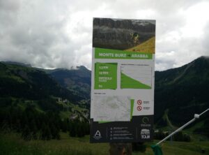 Mountain biking and biking are popular activities in the Dolomites