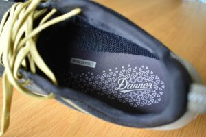 Danner Trail 2650 GTX Shoes: The insole and Gore-Tex lining on the sides