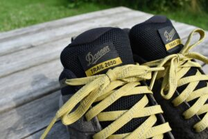 Danner Trail 2650 GTX Shoes: Sturdy laces and breathable tongue
