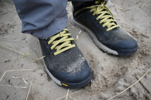 Danner Trail 2650 GTX Shoes: The rand provides extra protection