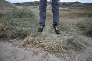 Danner Trail 2650 GTX Shoes: Flying in them on a trail