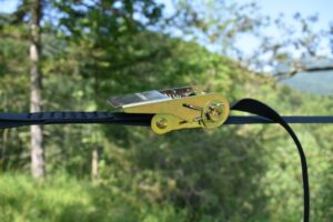 Tentsile UNA Hammock Tent: The ratchet enables you to add tension to the hammock