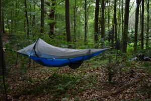 Tentsile UNA Hammock Tent: Without the rainfly