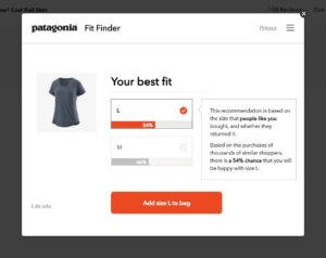 Patagonia Capilene Cool Trail T-shirt - Fit finder